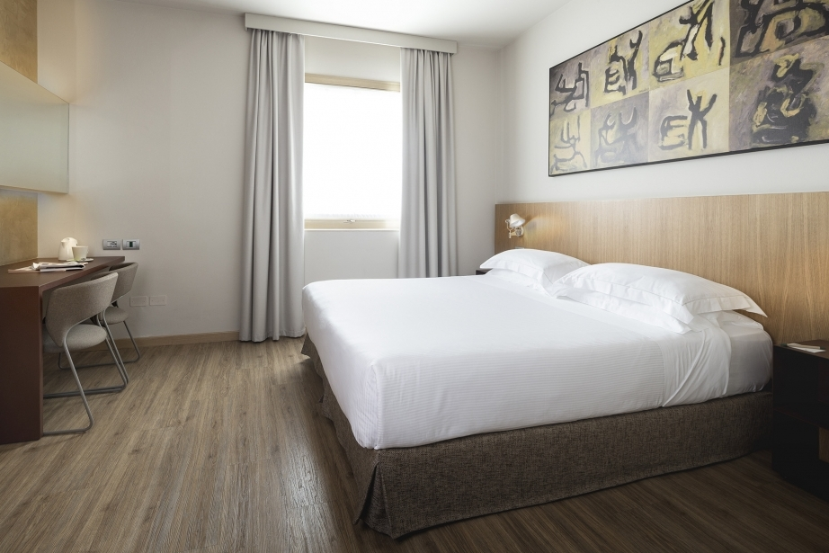 Eleganza e stile nelle camere superior del BW Plus Park Hotel Pordenone