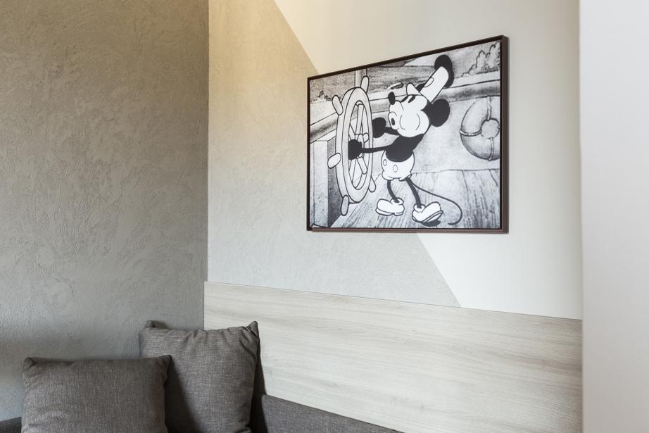 Stile ed eleganza nelle camere superior del BW Plus Park Hotel Pordenone